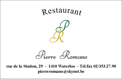 Restaurant Pierre Romano - Waterloo